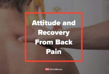 Attitude and Recovery From Back Pain