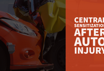 Central Sensitization After Auto Injury