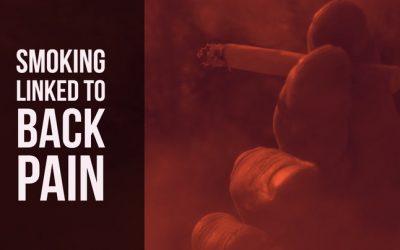 Smoking Linked to Back Pain