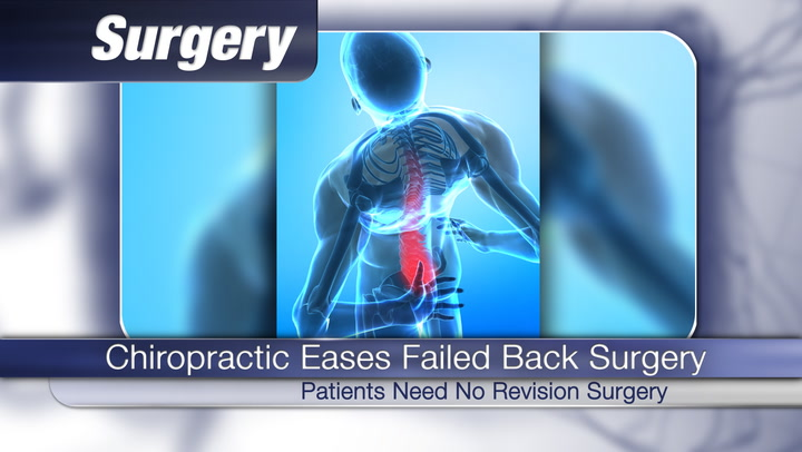 Chiropractic Eases Failed Back Surgery Syndrome