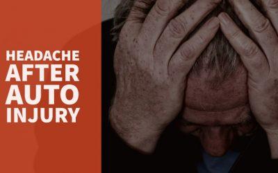 Headache After Auto Injury
