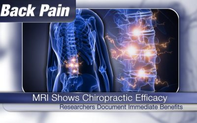 MRI Scans Show Immediate Benefits of Chiropractic