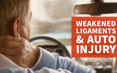 Auto Injuries Can Weaken Neck Ligaments