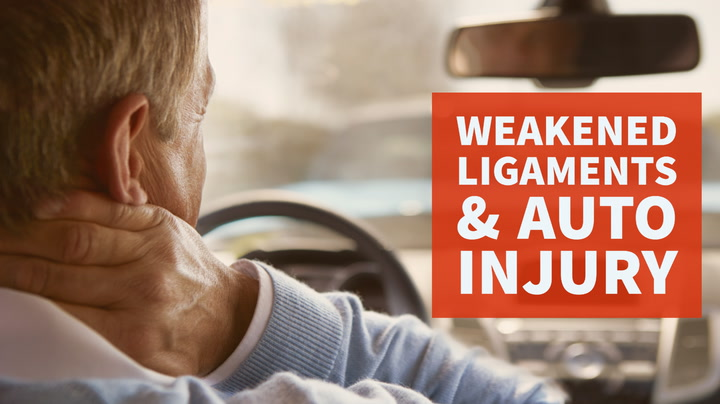 Auto Injuries Can Weaken Neck Ligaments